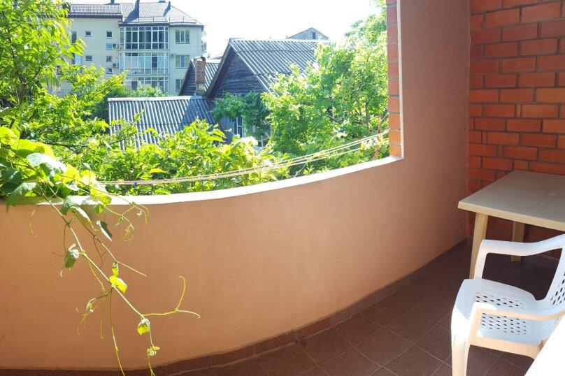 Номер полустандарт с балконом, улица Победы, 141А, Лазаревское - Фотография 1