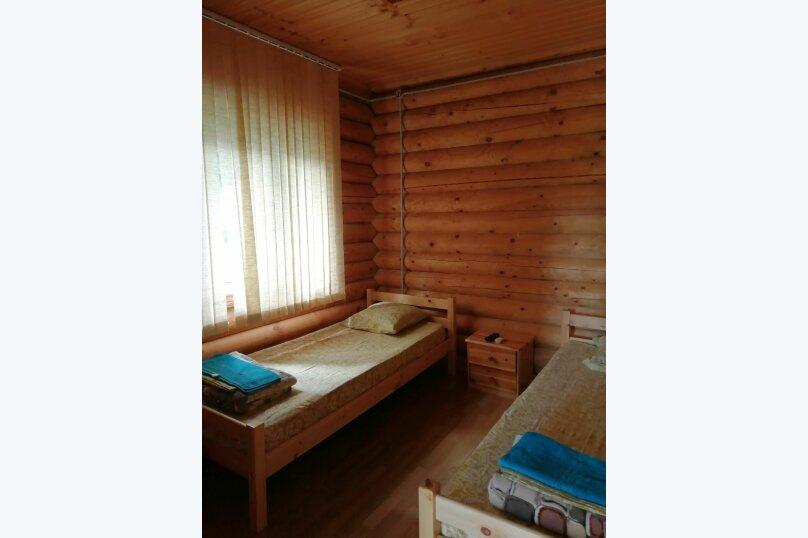 2.4, сруб № 1 и № 3 - 2 этаж Стандарт  3-х местный с  отдельными кроватями , улица Циолковского, 42, Геленджик - Фотография 1