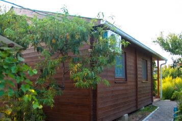 Деревянный коттедж №3, 37 кв.м. на 5 человек, 2 спальни, Приморская улица, 42, Благовещенская - Фотография 1
