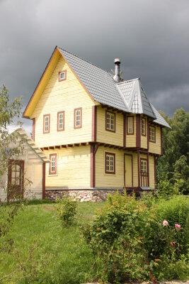 Дом, 100 кв.м. на 10 человек, 1 спальня