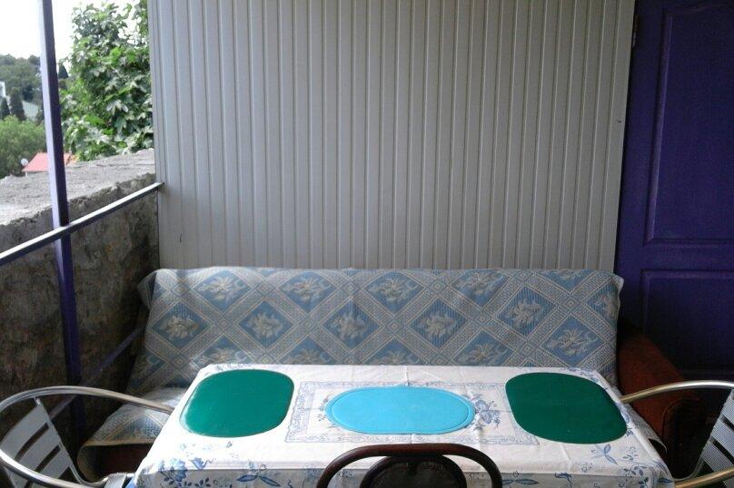 Домик  (фиолетовый), 24 кв.м. на 4 человека, 1 спальня, Ленина, 21, Алупка - Фотография 10
