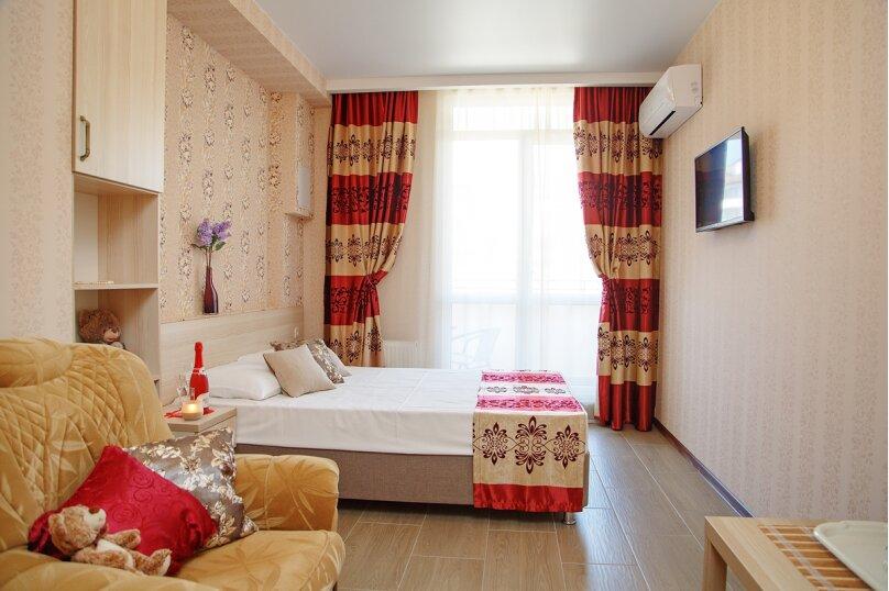 Двухместный номер Делюкс с 1 кроватью и балконом, Дивная улица, 1, Дивноморское - Фотография 1