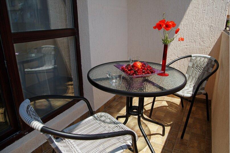 Двухместный номер Делюкс с 1 кроватью и балконом, Дивная улица, 1, Дивноморское - Фотография 3