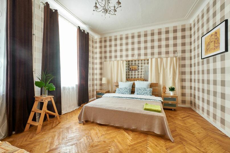 4-комн. квартира, 71 кв.м. на 8 человек, Захарьевская улица, 27, Санкт-Петербург - Фотография 1