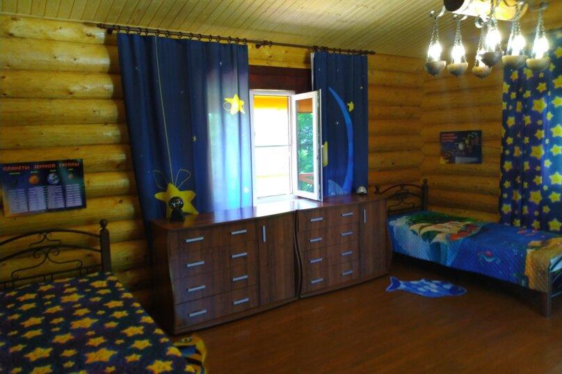 Дом бревенчатый в лесу, у моря, с бассейном., 110 кв.м. на 6 человек, 2 спальни, с\т Гранат, 86А, Туапсе - Фотография 47