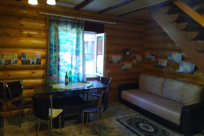 Дом бревенчатый в лесу, у моря, с бассейном., 110 кв.м. на 6 человек, 2 спальни, с\т Гранат, 86А, Туапсе - Фотография 48