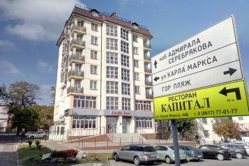3-комн. квартира, 95 кв.м. на 5 человек, улица Толстого, 3, Новороссийск - Фотография 1