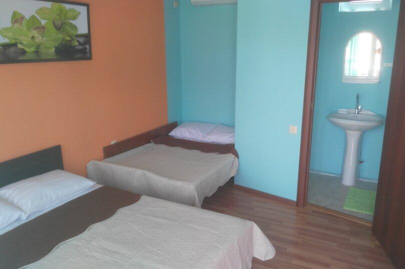 4-местный номер на 2-м этаже, Черноморская улица, 98, Витязево - Фотография 5