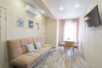 3-комн. квартира, 43 кв.м. на 6 человек, Марсовый переулок, 21, Сочи - Фотография 1