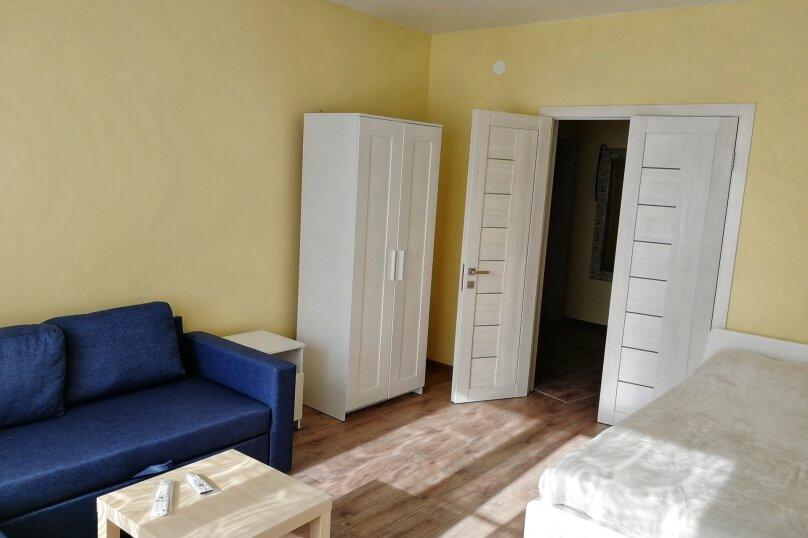 2-комн. квартира, 52 кв.м. на 7 человек, Второй микрорайон,  2, Ольгинка - Фотография 8