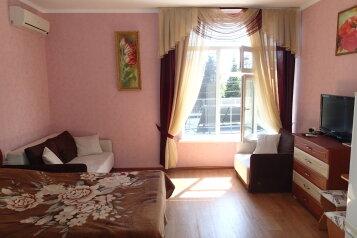 1-комн. квартира, 35 кв.м. на 5 человек, улица Розы Люксембург, 18, Алупка - Фотография 1