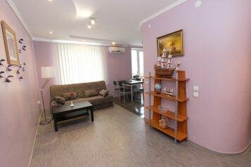 3-комн. квартира, 81 кв.м. на 6 человек, улица Федько, 1А, Феодосия - Фотография 2