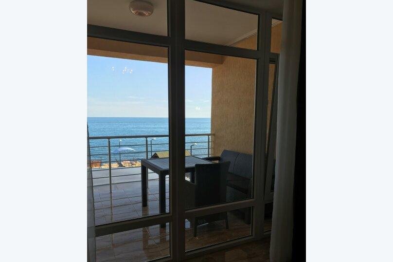 Двухкомнатный номер ЛЮКС вид на море № 14, Лазурный берег, 37, дом №6, Морское - Фотография 1