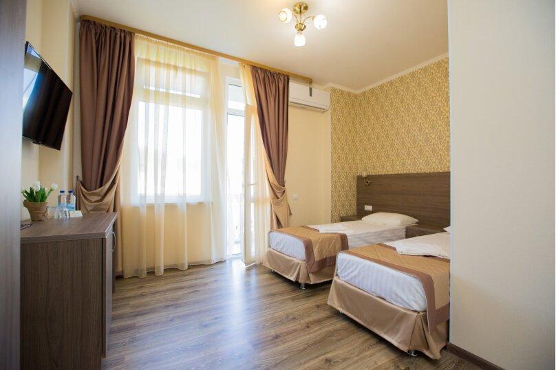 2х местный с двумя раздельными кроватями, улица Просвещения, 109В, Адлер - Фотография 1