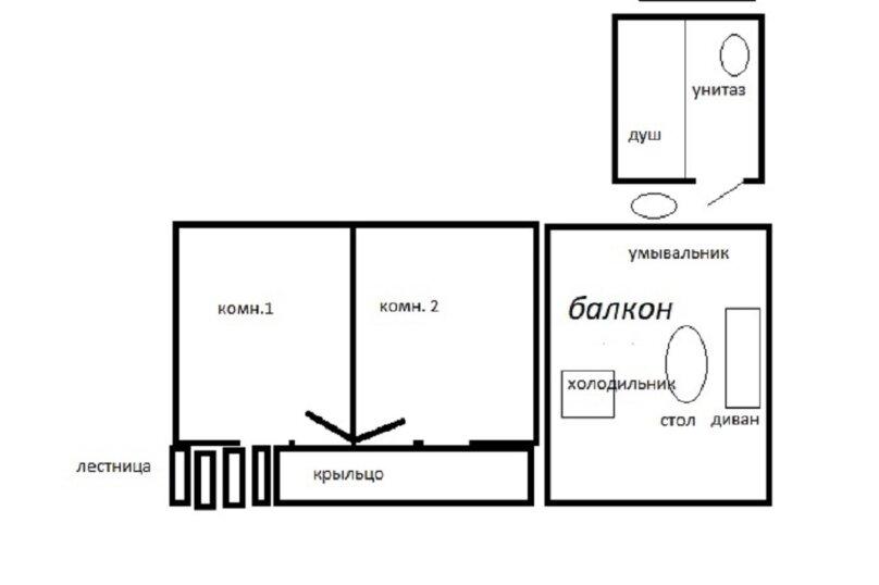 """Гостевой дом """"Территория отдыха"""", таллинская, 41 А на 4 комнаты - Фотография 30"""