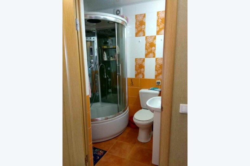 2-комн. квартира, 36 кв.м. на 6 человек, улица Дружбы, 12, Кабардинка - Фотография 12