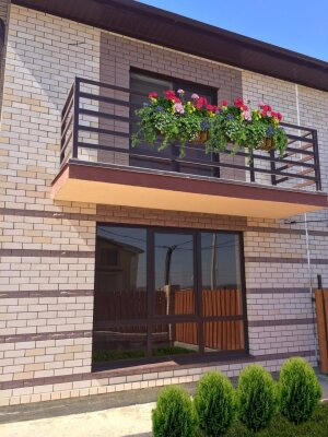 Апартаменты, 80 кв.м. на 8 человек, 2 спальни, Южная улица, 50А, Витязево - Фотография 1