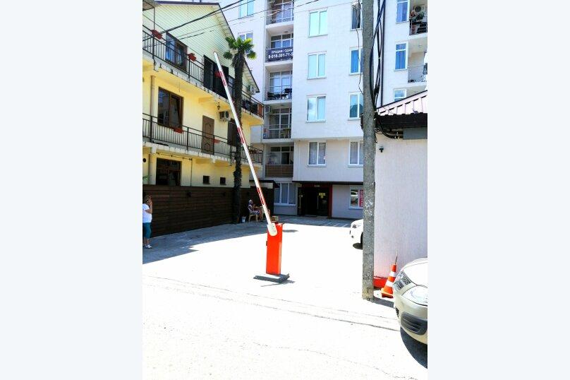 1-комн. квартира, 27 кв.м. на 3 человека, улица Чкалова, 13, Адлер - Фотография 15