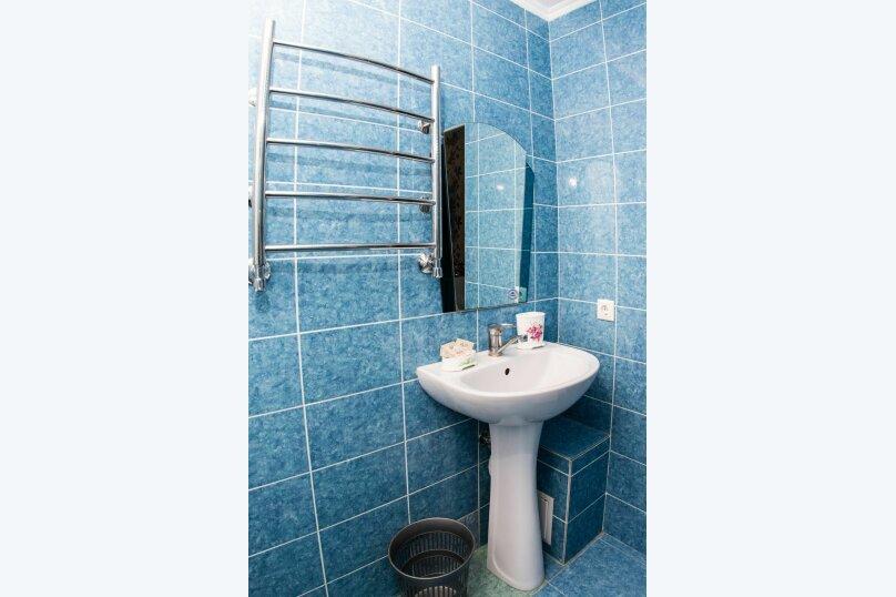 3х местный стандарт с двухспальной и односпальной кроватьями, улица Крупской, 27, Адлер - Фотография 4