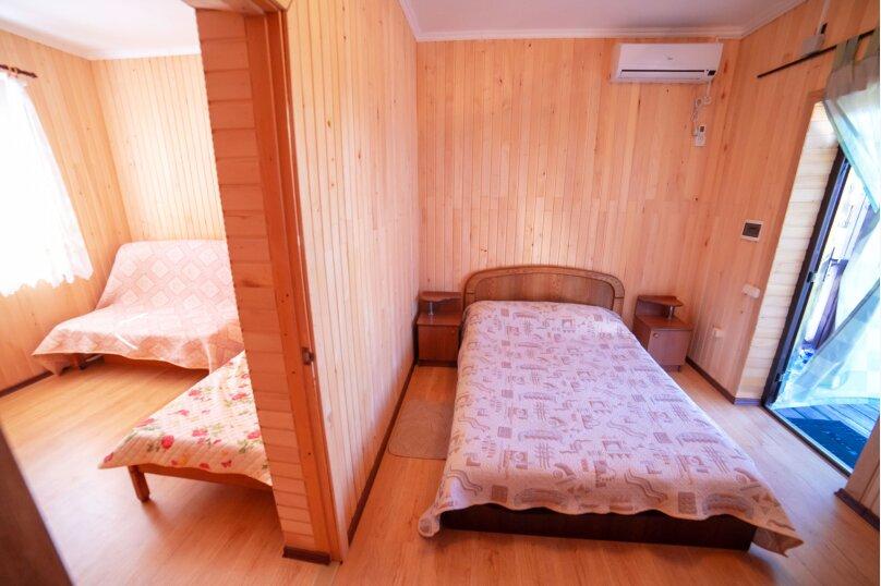 Категория 2 Двухкомнатный пятиместный  люкс на  втором этаже., Крымская улица, 1, Витино - Фотография 1