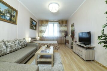 1-комн. квартира, 42 кв.м. на 4 человека, Вербная улица, 1А, Казань - Фотография 1