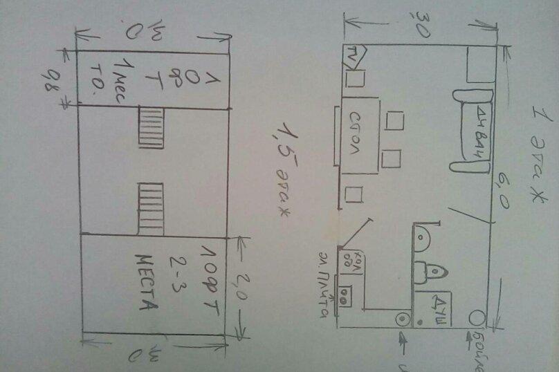 Дом, 24 кв.м. на 4 человека, 1 спальня, 3 линия, 51, Петрозаводск - Фотография 13