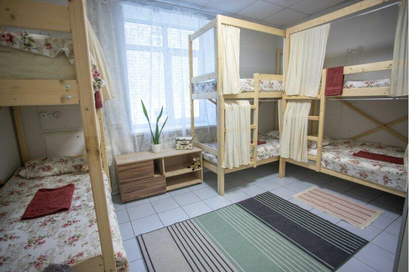 Спальное место в  женском номере с 3 двухъярусными кроватями , улица Шевченко, 73, Анапа - Фотография 1