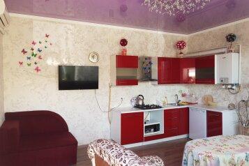 Двухкомнатный номер с кухней студио, 52 кв.м. на 7 человек, 2 спальни, Гуль-тепе, 12, Судак - Фотография 1
