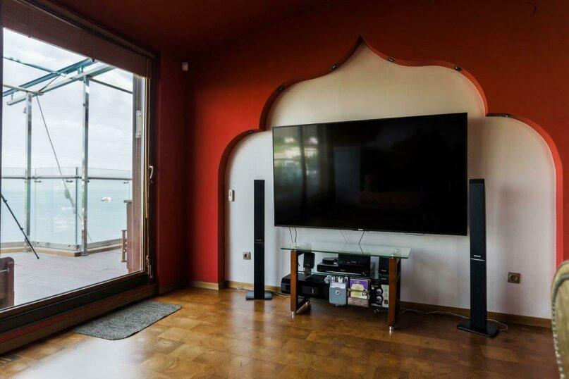 3-комн. квартира, 110 кв.м. на 5 человек, набережная Пушкина, 5б, Гурзуф - Фотография 4