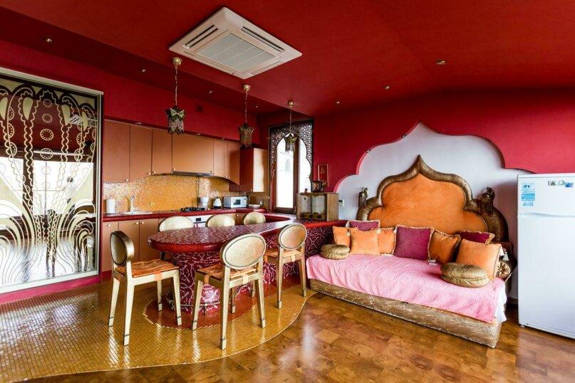 3-комн. квартира, 110 кв.м. на 5 человек, набережная Пушкина, 5б, Гурзуф - Фотография 13