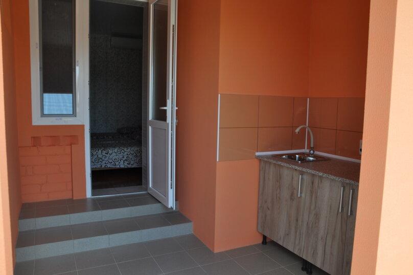 Одна комнатный на 3- 4человек , 50 кв.м. на 4 человека, 1 спальня,  Морское  ул. Озен-Бою   п. 3, д. 1,  ,    п. 3, д. 1, , Морское - Фотография 10