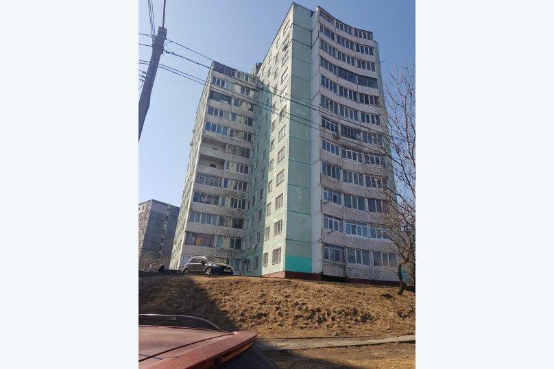 2-комн. квартира, 36 кв.м. на 4 человека, Окатовая улица, 10, Владивосток - Фотография 21