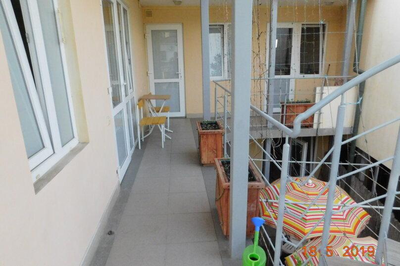 На 2 этаже для двоих с балкончиком, Заречная улица, 4, Алушта - Фотография 6