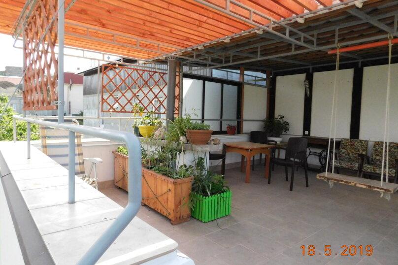 На 2 этаже для двоих с балкончиком, Заречная улица, 4, Алушта - Фотография 9