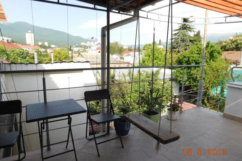 На 2 этаже для двоих с балкончиком, Заречная улица, 4, Алушта - Фотография 10
