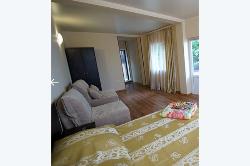 Пятиместный номер с балконом, , , Архипо-Осиповка - Фотография 1