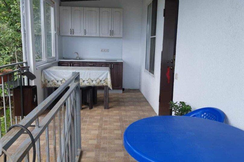 Трехместный с отдельным входом, балконом, кухней и удобствами  , Нагорная, 26, Цандрыпш - Фотография 1
