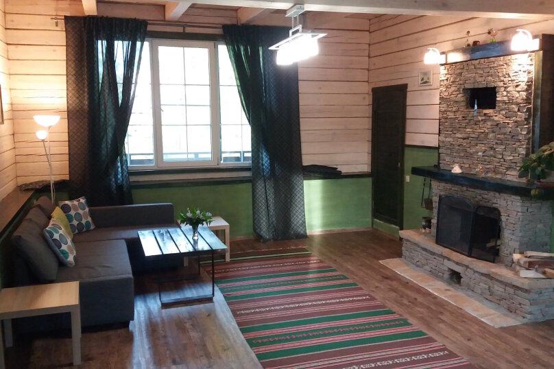 Шале с камином для семейного отдыха, 60 кв.м. на 2 человека, 2 спальни, 40 лет Октября, 10, Таватуй - Фотография 12