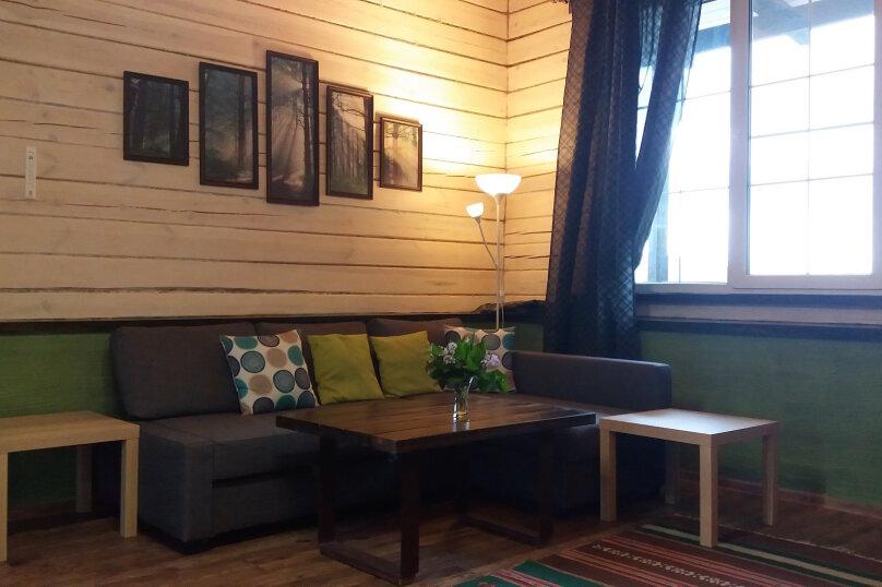 Шале с камином для семейного отдыха, 60 кв.м. на 2 человека, 2 спальни, 40 лет Октября, 10, Таватуй - Фотография 13