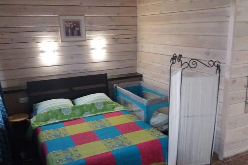 Шале с камином для семейного отдыха, 60 кв.м. на 2 человека, 2 спальни, 40 лет Октября, 10, Таватуй - Фотография 14