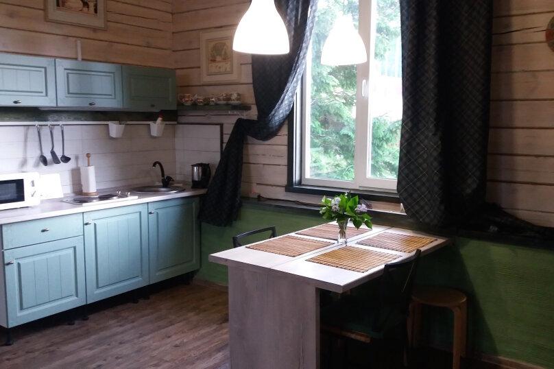 Шале с камином для семейного отдыха, 60 кв.м. на 2 человека, 2 спальни, 40 лет Октября, 10, Таватуй - Фотография 15