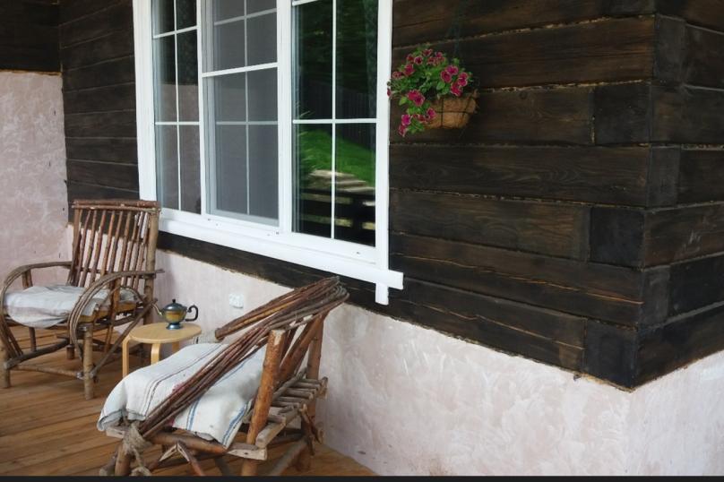 Шале с камином для семейного отдыха, 60 кв.м. на 2 человека, 2 спальни, 40 лет Октября, 10, Таватуй - Фотография 18