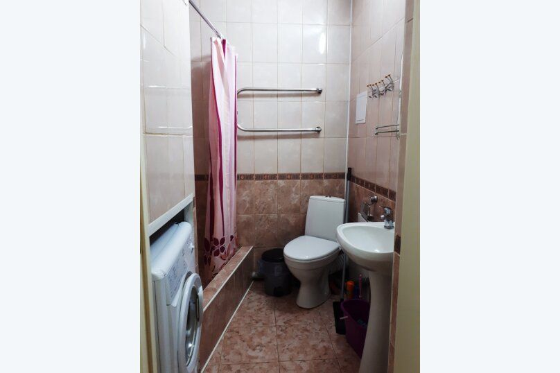 1-комн. квартира, 24 кв.м. на 4 человека, Пионерский проспект, 104, Джемете - Фотография 11