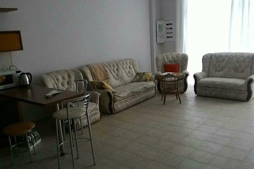 2-комн. квартира, 80 кв.м. на 6 человек, улица Мориса Тореза, 5, Ялта - Фотография 9