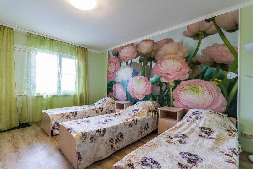 3х местная комната с отдельными кроватями, Высокая улица, 1, Архипо-Осиповка - Фотография 1