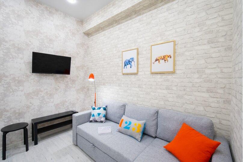 3-комн. квартира, 55 кв.м. на 6 человек, улица Турчинского, 19А, Красная Поляна - Фотография 16