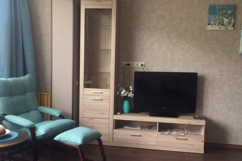 2-комн. квартира, 54 кв.м. на 5 человек, Фрунзенское шоссе, 8, Партенит - Фотография 32