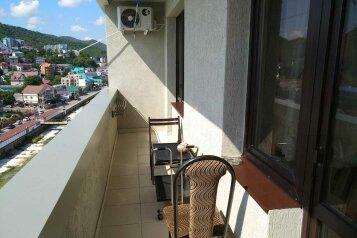 1-комн. квартира, 40 кв.м. на 5 человек, микрорайон Горизонт, 17, Ольгинка - Фотография 3