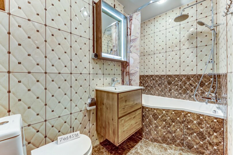 1-комн. квартира, 38 кв.м. на 3 человека, Пушкинская улица, 13, Санкт-Петербург - Фотография 13