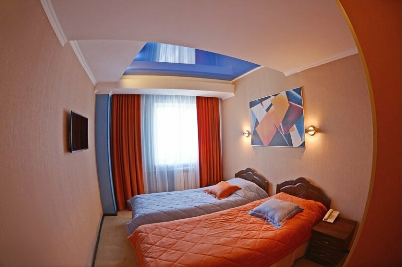 Стандарт с 2 раздельными кроватями, Гражданский проспект, 18, Белгород - Фотография 1